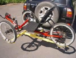 car rack tricycles bicycles