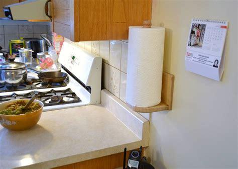 Make A Paper Towel Holder - a paper towel holder