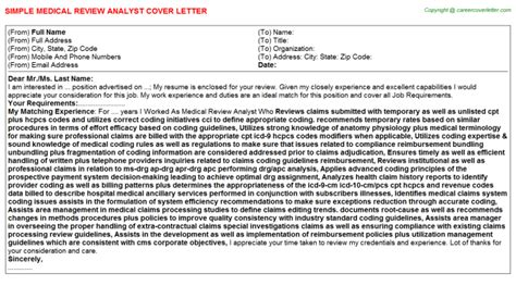 Review Cover Letter by Review Cover Letters