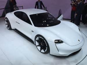 German Electric Cars 2018 2018 Porsche Mission E 600 Hp Electric Sport Sedan