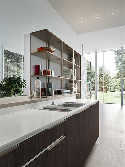 modern kitchen storage fashionable modern kitchen compositions with smart storage
