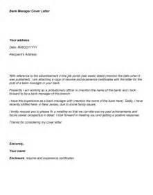 Sample job application cover letter for bank employment application