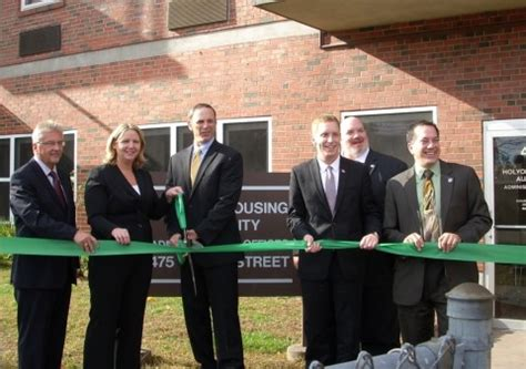 holyoke housing authority holyoke housing authority government officials and ameresco celebrate completion of 2 3