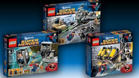 three new lego superman sets released mightymega