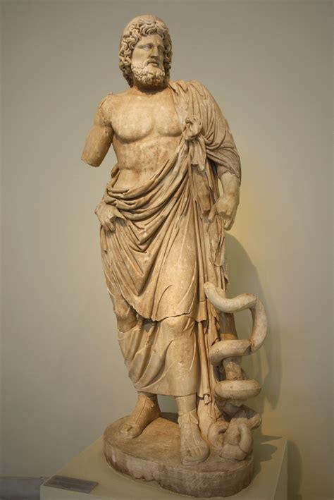 Statues Of Gods asklepieion of epidaurus gtp