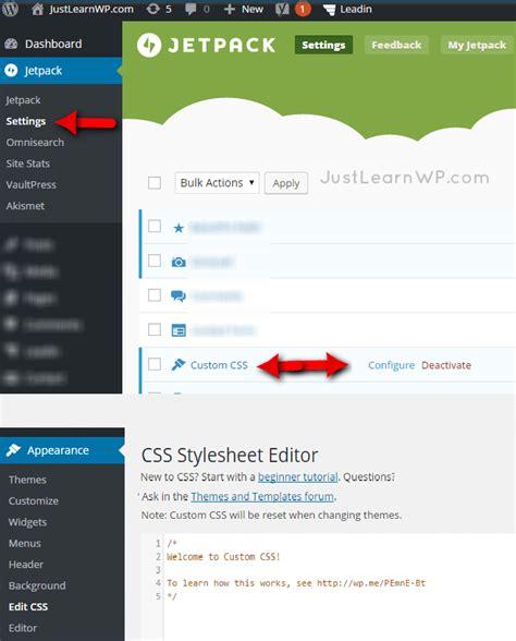 wordpress theme editor link wordpress custom css using chrome developer tools