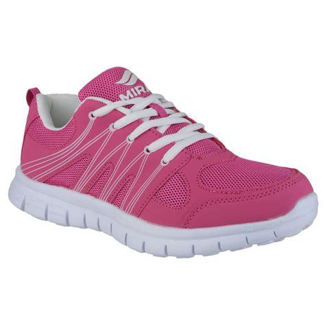 mirak milos lace up sports shoes womens lightweight trainers ebay