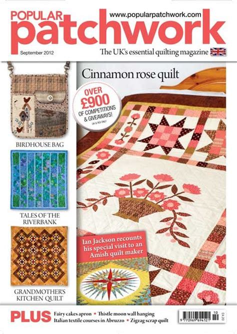 Popular Patchwork - popular patchwork september 2012 news