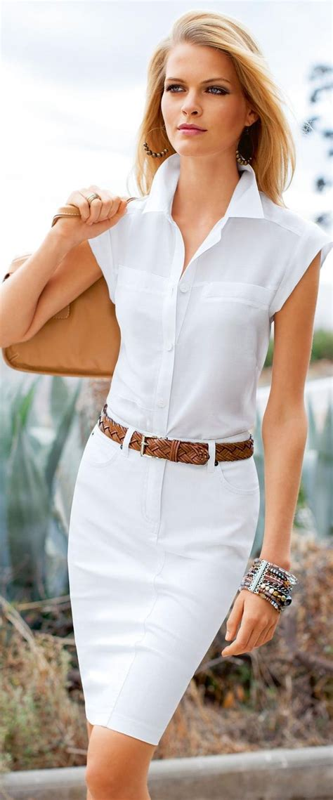 17 with white shirt pairing style ideas