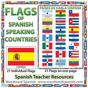 flags of spanish speaking countries woodward spanish