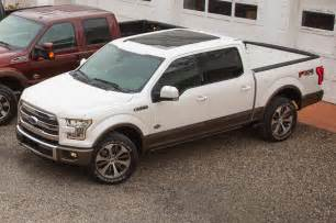 Ford F150 King Ranch 2015 2015 Ford F 150 King Ranch Side View From Above Photo 7