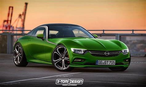 opel productions production opel gt rendered but it s not happening