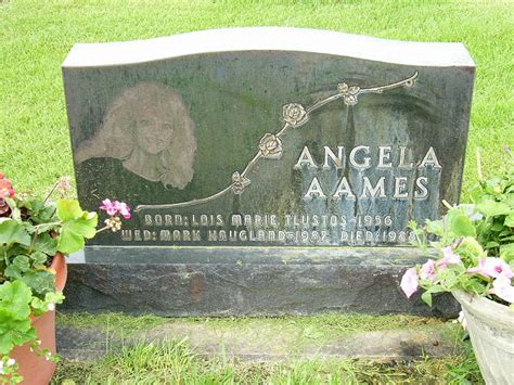 Cause Of Records Free Angela Aames Found A Gravefound A Grave