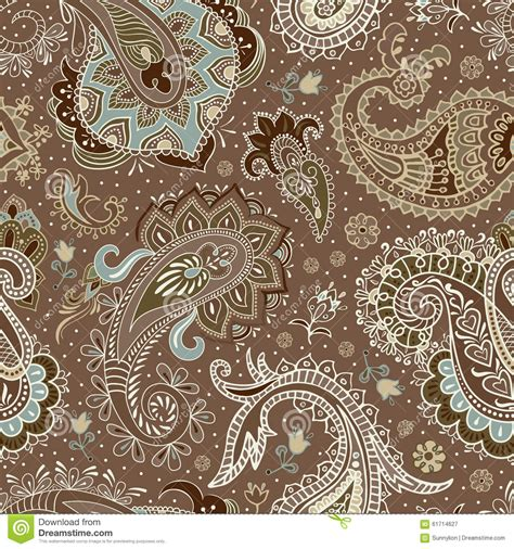paisley seamless pattern vector vector seamless paisley pattern stock vector image 61714627