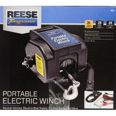 reese towpower portable electric winch wiring diagram 53