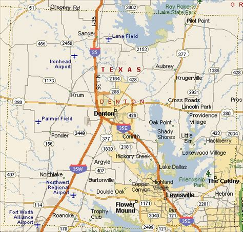 where is denton texas on a map adventures of an emergency management volunteer maps of texas