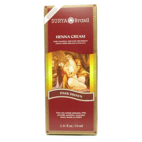 surya brasil light brown henna cream dark brown 2 3 oz 14 70ea from surya brasil