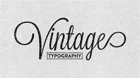 typography course creating vintage typography easily illustrator cc 2014