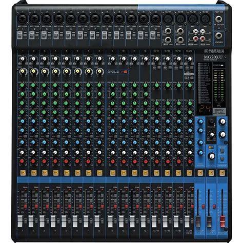 Mixer Yamaha Mg24 Xu mesa de som yamaha mg20 xu usb 20 canais mixer efeitos r 4 739 00 em mercado livre