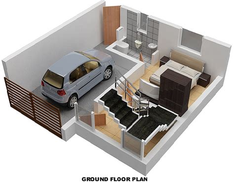 emejing 2 bhk home design photos amazing house 600 sq ft house plans indian style with car parking