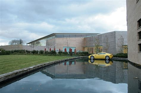 aston martin headquarters luxury car makers announce motor trade