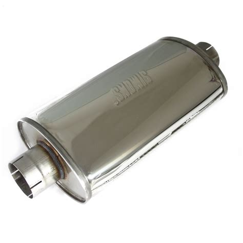profesional turbolight universal de acero inoxidable silenciador escape deportivo