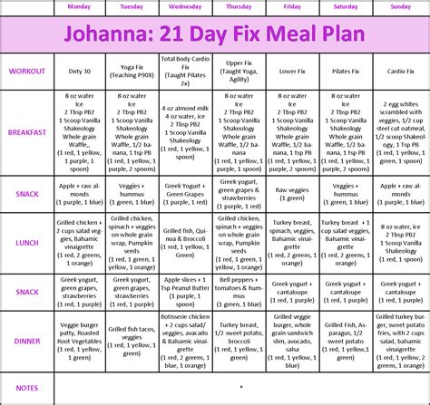 printable meal plan for 21 day fix 1000 images about 21 days fix on pinterest container