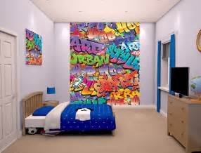 Wall Mural For Bedroom graffiti wallpaper mural for bedrooms 8ft x 6ft 6