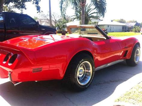 find used 1975 chevrolet corvette convertible loaded s matching a c 4 speed in buy used 1975 corvette stingray convertible in merritt island florida united states