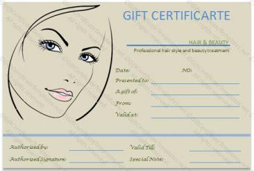 gift voucher templates gift certificate templates