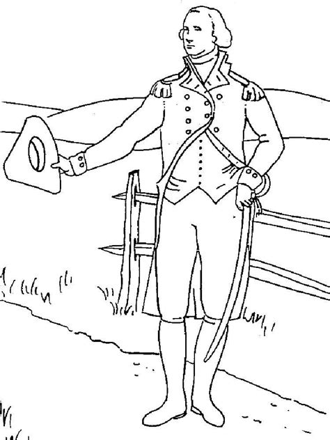 george washington coloring page minus the word there president george washington coloring pages free printable