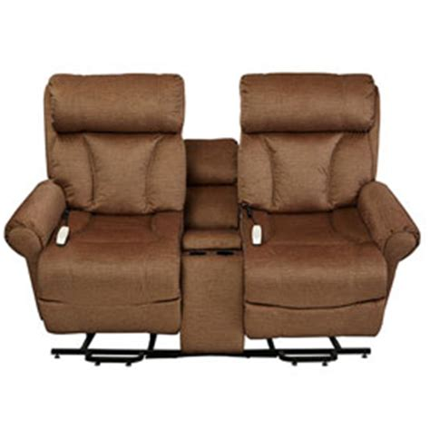 power lift loveseat chairs recliner mega motion companion power lift and