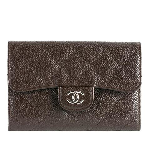 Chanel Quilted Wallet by Chanel Quilted Caviar Leather Medium Change Purse Wallet