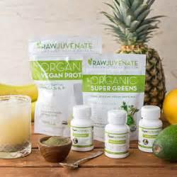 Rawjuvenate Complete Organic Detox Cleanse by Gallolea Pizza Kit 4 Pack Vegan Cuts