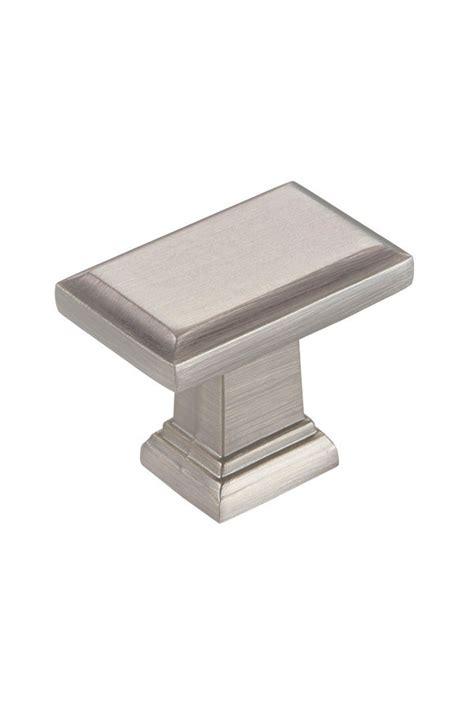 Kitchen Craft Hardware Contemporary Cabinet Knob In Brushed Nickel Kitchen Craft