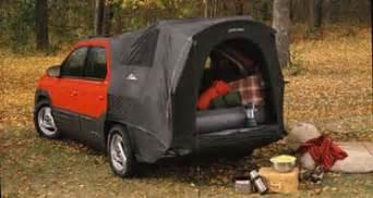 2001 Pontiac Aztek Tent 2001 Pontiac Aztek