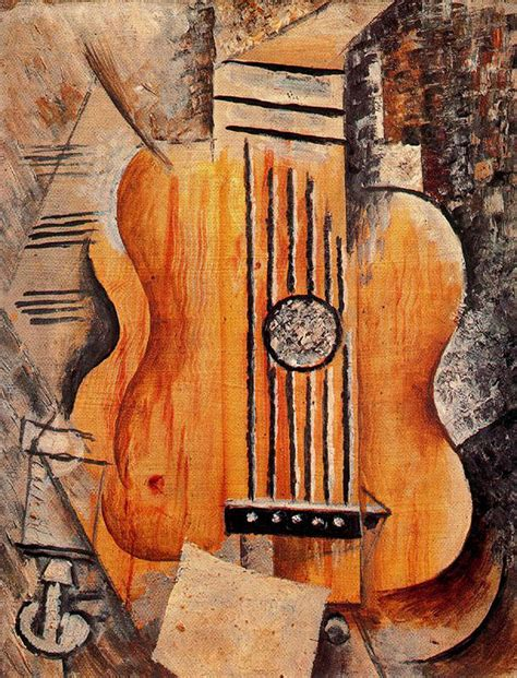 pablo picasso paintings guitar analytical cubism