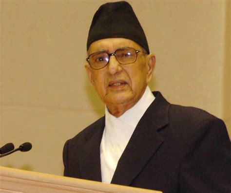 biography of a famous person of nepal girija prasad koirala biography childhood life