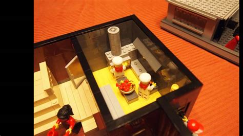 lego hotel tutorial lego restaurant youtube