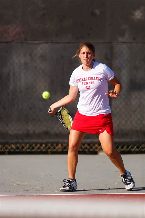 Mba Iowa Graduate With Honors by Two Receive S Tennis League Honors Central College
