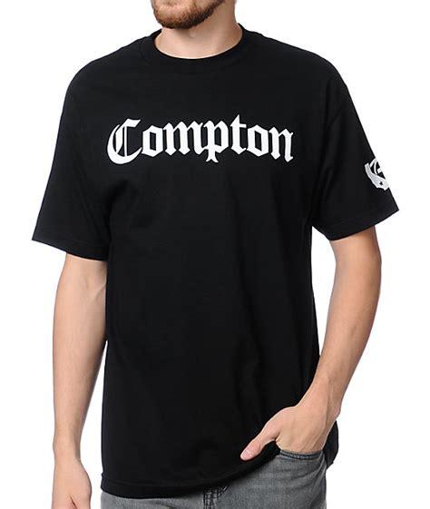 T Shirt Compton gold wheels compton black t shirt zumiez