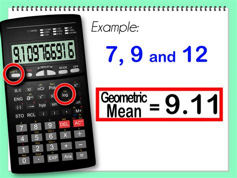 calculator antilog how to calculate the geometric mean with calculator