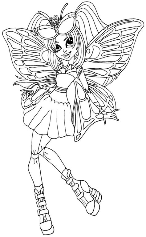 monster high coloring pages scaris coloring pages monster high coloring pages by elfkena on