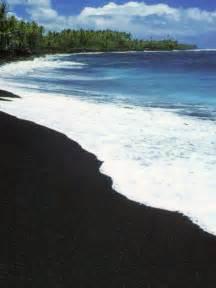 black sand island pinterest