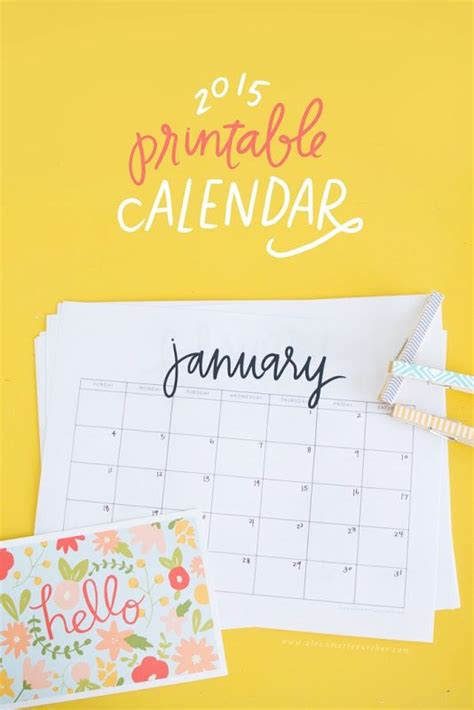 due date calendar party and printables