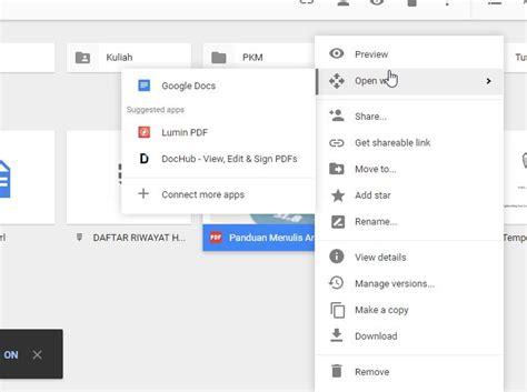 drive google adalah cara mengedit dokumen pdf online windowsku