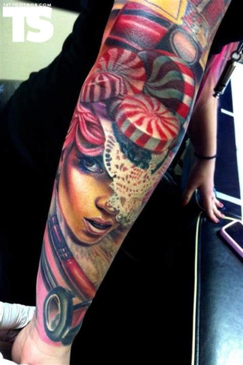 tattoo arm lady gaga this collection of messed up 3d tattoos is sick boredombash