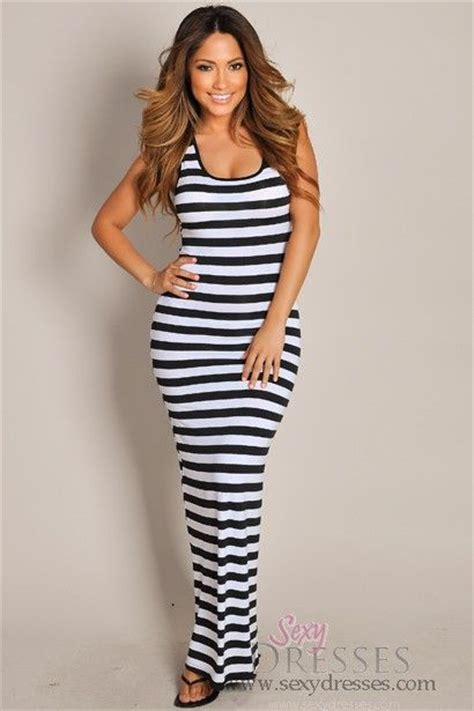 best striped dress black and white photos 2017 blue maize