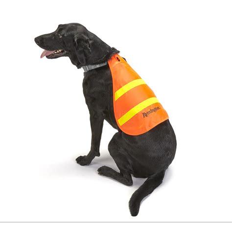 vest for dogs remington reflective safety vest for dogs orange 596685 vests apparel at