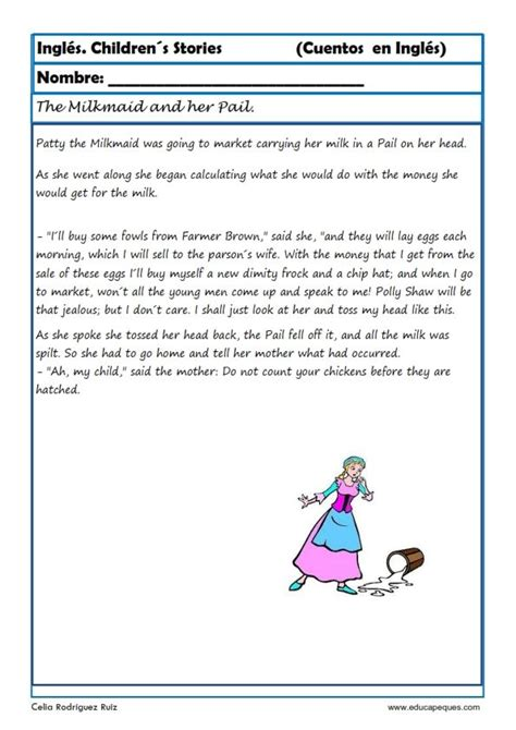 preguntas de comprension en ingles comprensi 243 n lectora en ingl 233 s cuentos cuentos